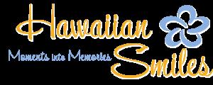 Hawaiian Smiles ~ Larger white drop shadow